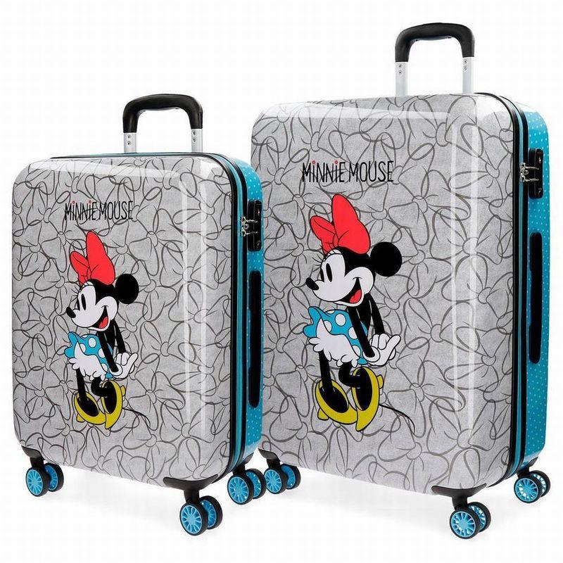 3cc0092f9d1 Set de 2 maleta trolley ABS de Minnie Mouse - Tienda online