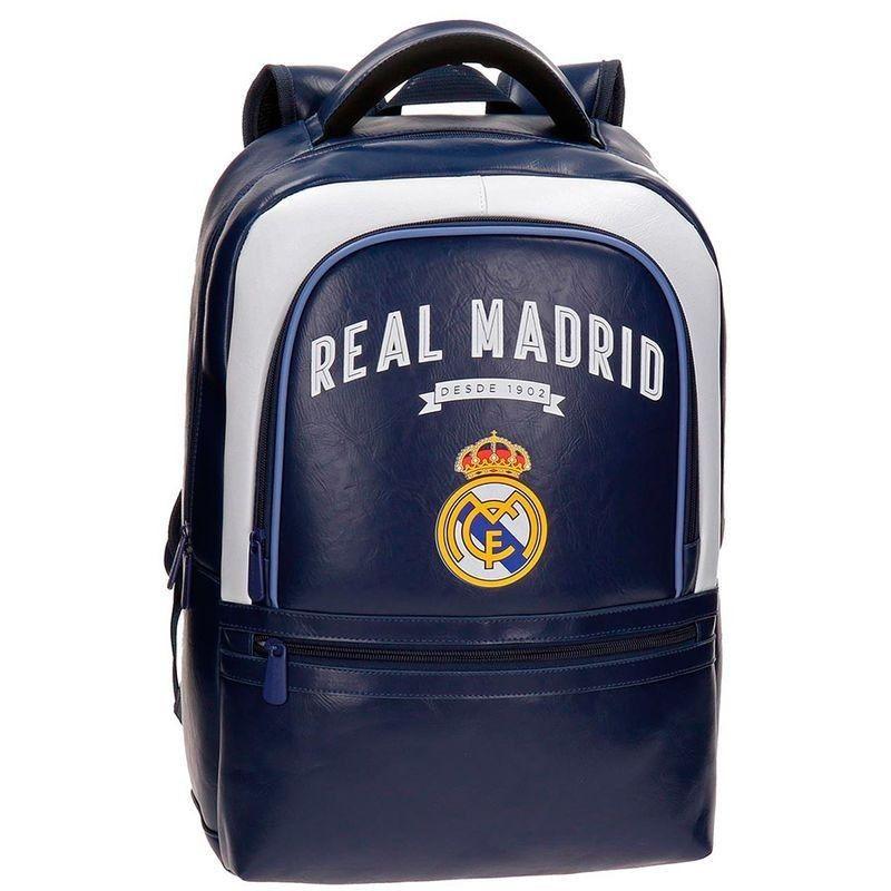 08f9e708cb4e8 Mochila adaptable 44cm portaordenador Real Madrid Vintage - Tienda ...