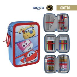 Estuche,Plumier Triple Giotto Super Wings