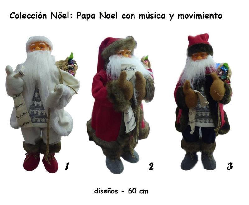 Imagenes De Papanoel En Movimiento.Papa Noel 60cm Sonido Y Movimiento Decoracion Navidad Modelo 2