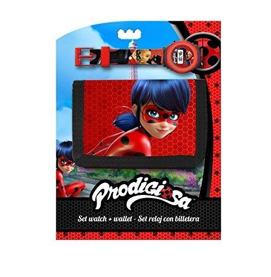 Cartera Ladybug Digital Y Reloj Set BrEQWdoexC